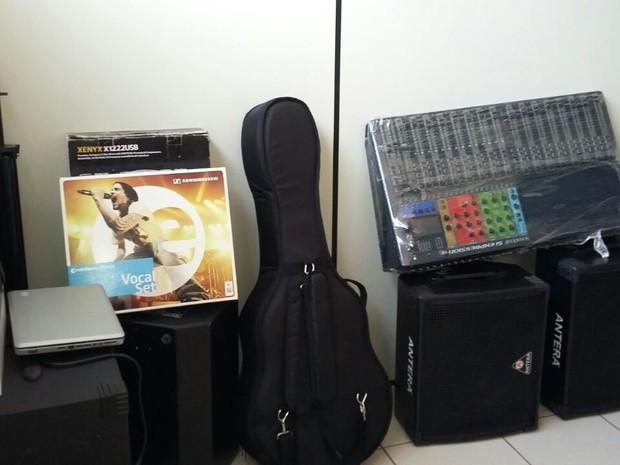 instrumentos roubados