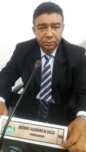 Vereador:Jerônimo Waldomiro