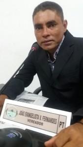 Vereador:João Evangelista