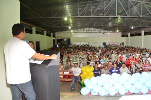 prefeito  fala sobre projeto