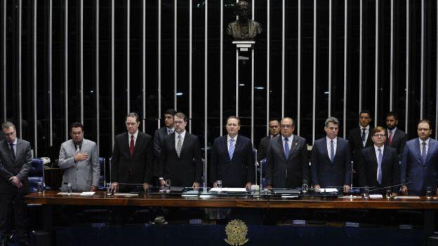 Senado é formado por grande maioria de homens brancos