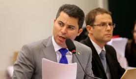 """Relator do processo contra Eduardo Cunha no Conselho de Ética, o deputado Marcos Rogério disse: """"Estamos diante do maior escândalo que este colegiado já julgou, não se trata apenas de omissão, de mentira, mas de uma trama para mascarar a evasão de divisas, a fraude fiscal"""" Wilson Dias/Agência Brasil"""