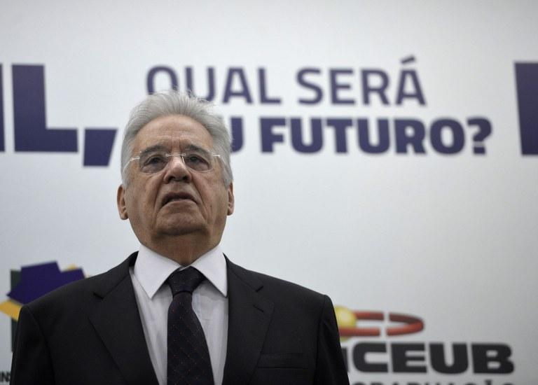Das privatizações à valorização do câmbio destruidora da indústria, tudo começou com ele (Wilson Dias/ Abr)