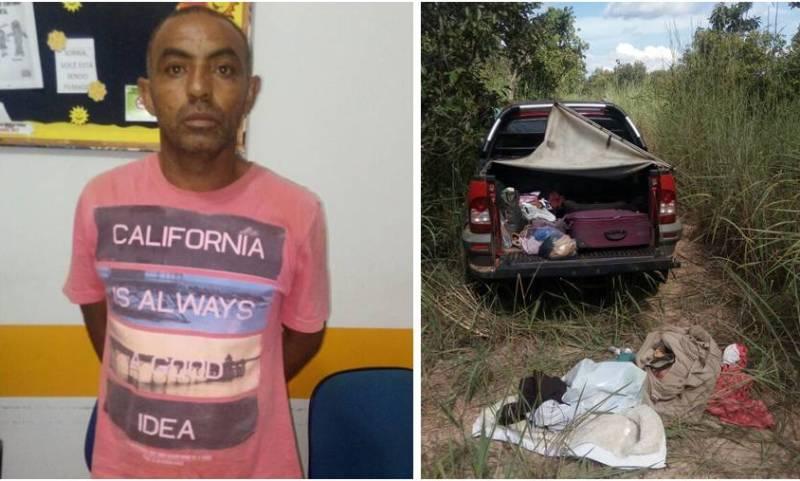 A polícia prendeu mais um suspeito, Eurico da Silva Santos, 49 anos,  e localizou a pickup vermelha usada nos roubos.