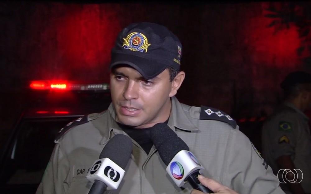 Após agressão, Augusto Sampaio de Oliveira Neto está afastado das ruas (Foto: Reprodução/ TV Anhanguera).