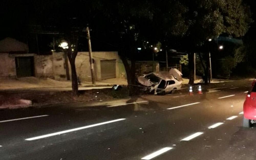 Batida aconteceu na Avenida Feira de Santana em Goiânia (Foto: Divulgação/Polícia Civil)