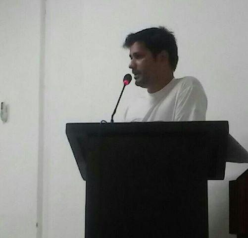 Secretario de Meio Ambiente de Palmeiropolis, Jean Carlos Soares.
