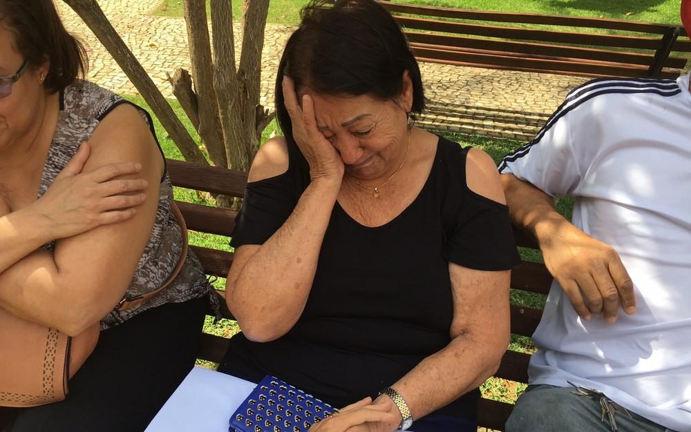 Mãe de Walter negou que filho era portador da doença: 'É mentira' (Foto: Sílvio Túlio/G1)